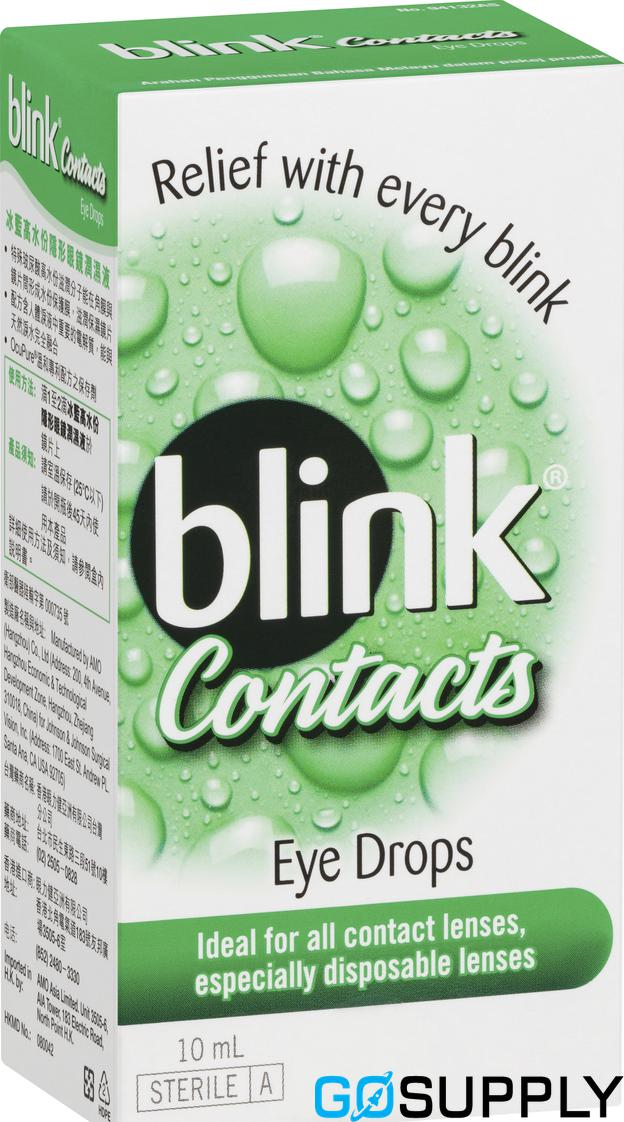 Blink Contacts Eye Drops - 10mL
