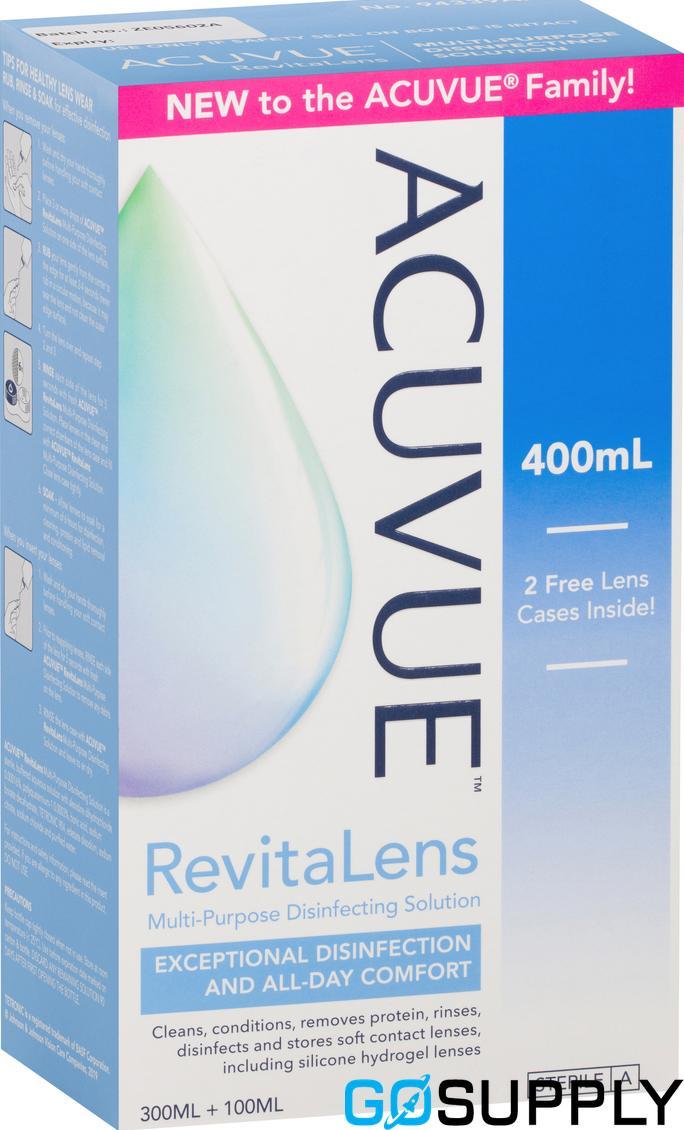 Acuvue RevitaLens Multi-Purpose Disinfecting Solution 400mL