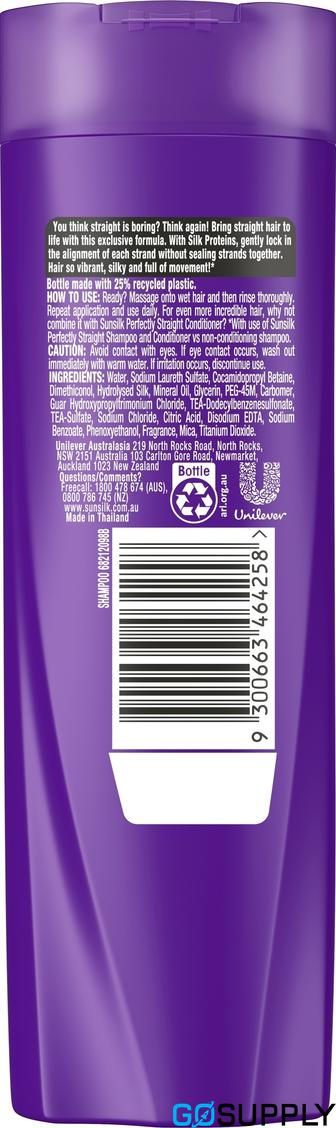 SUNSILK  Shampoo Perfect Straight 200ml