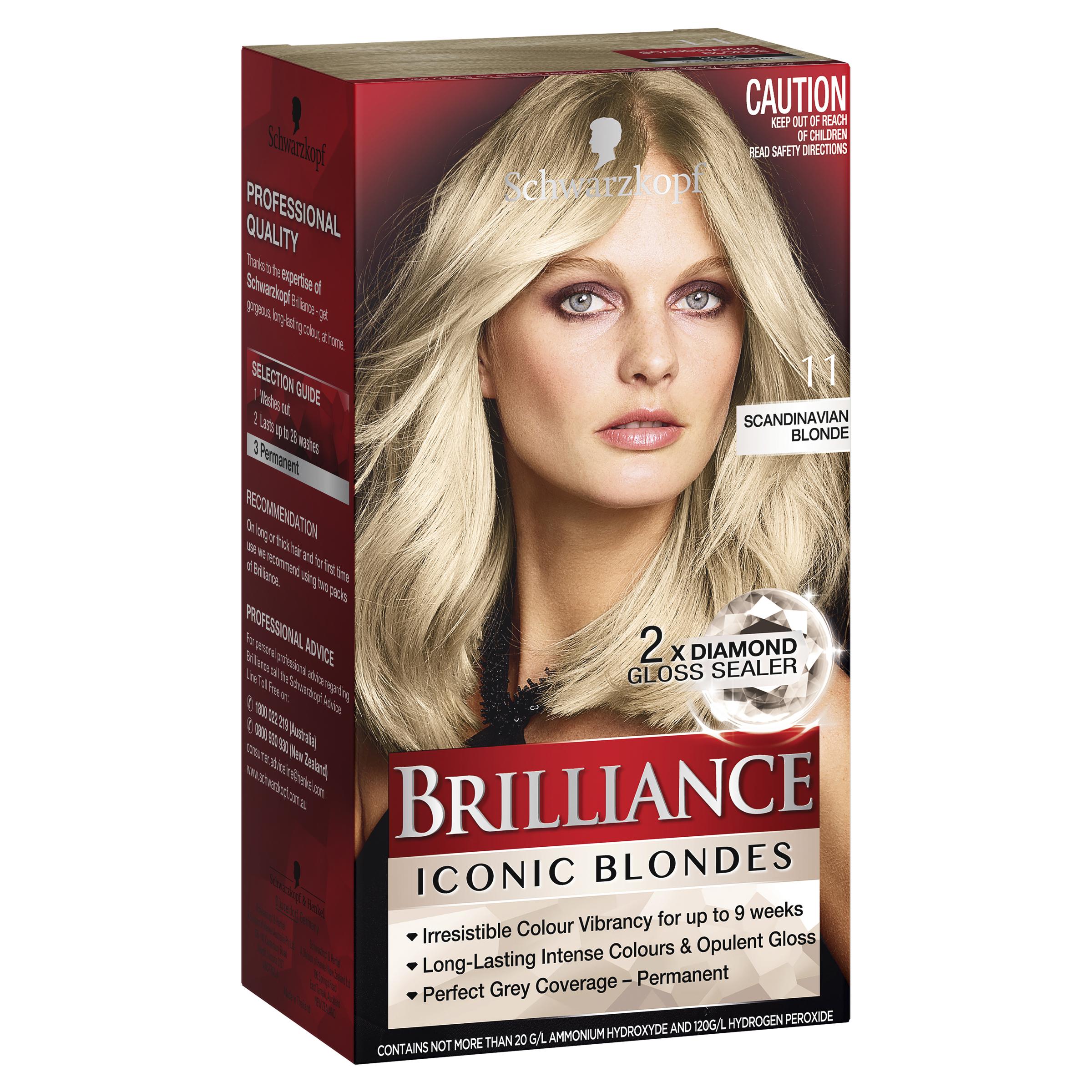Brilliance Intense Colour Crème 11 Scandinavian Blonde